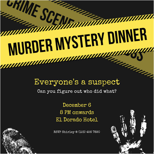macyq6nqzog yellow murder mystery invitation