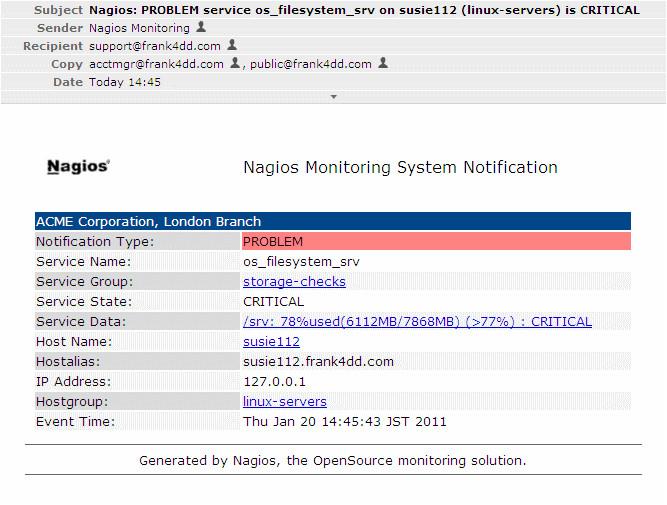 nagios flexible notifications