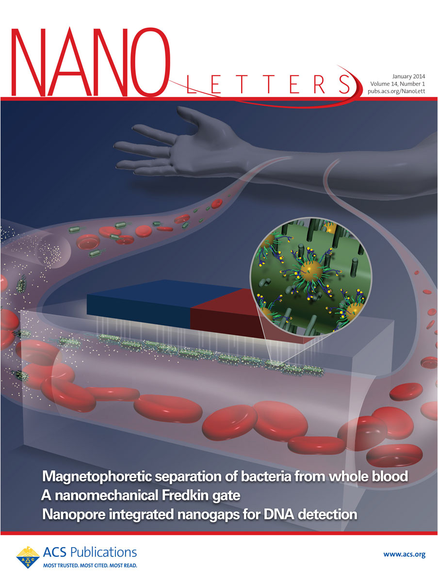 Nano Letters Cover Letter Journal Covers Langer Lab