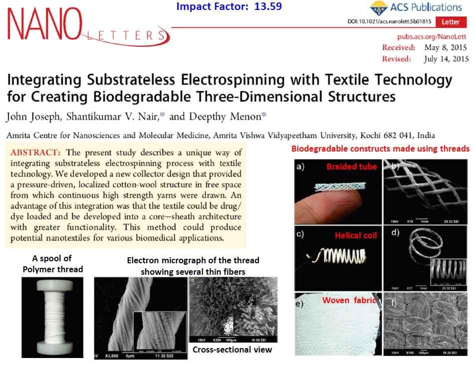 nano letter impact factor