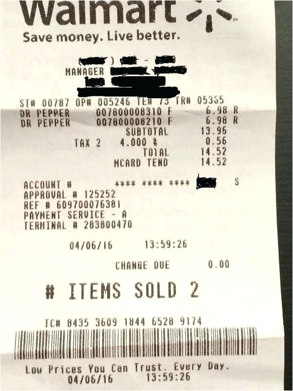 walmart receipt reprint