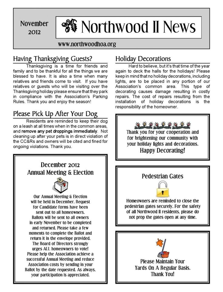 Neighborhood Newsletter Template 81 Best Free Templates Images On Pinterest Printables
