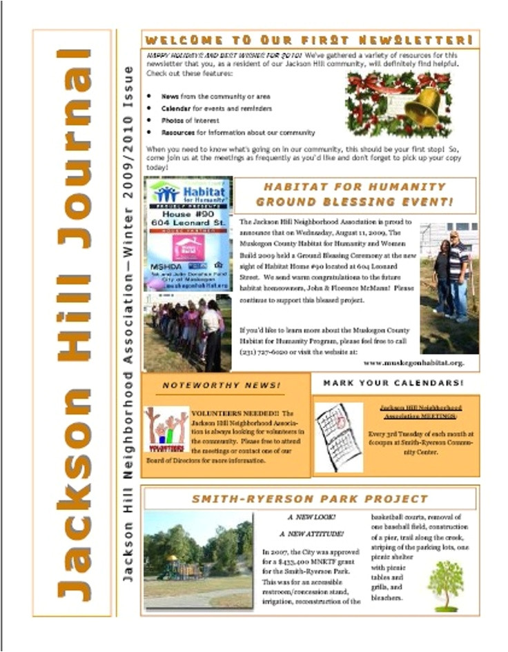 Neighborhood Newsletter Template 9 Best Poa Images On Pinterest