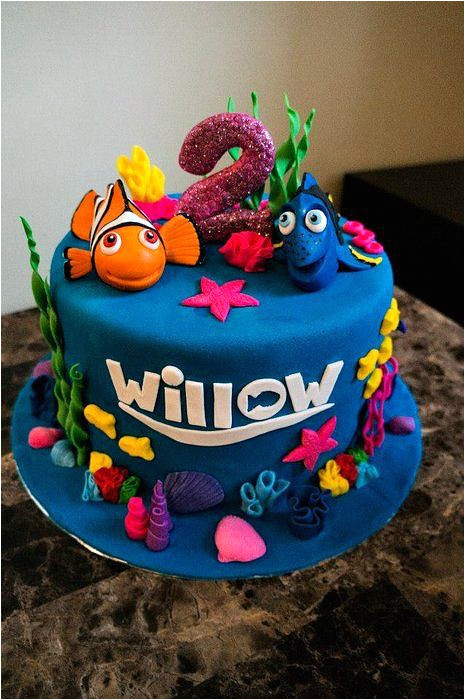 Nemo Cake Template 40 Finding Dory Birthday Party Ideas Pretty My Party