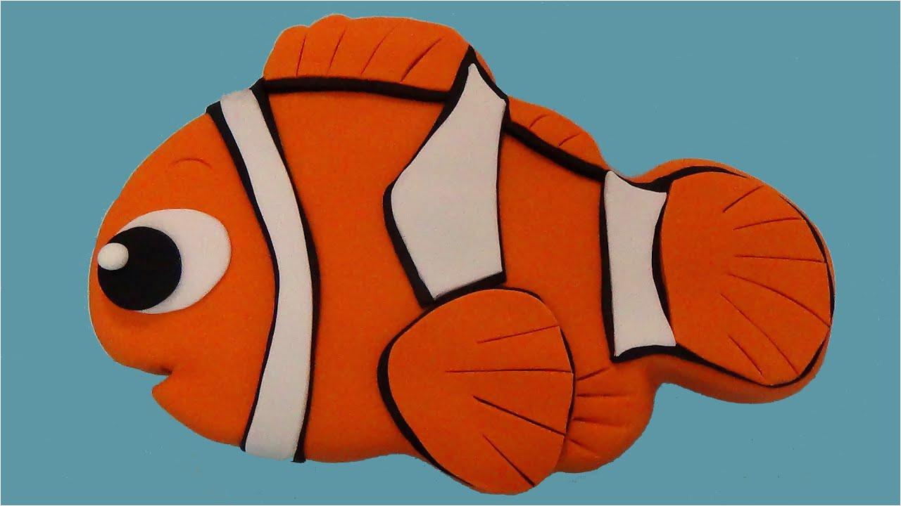 Nemo Cake Template How to Make Nemo Cake Youtube