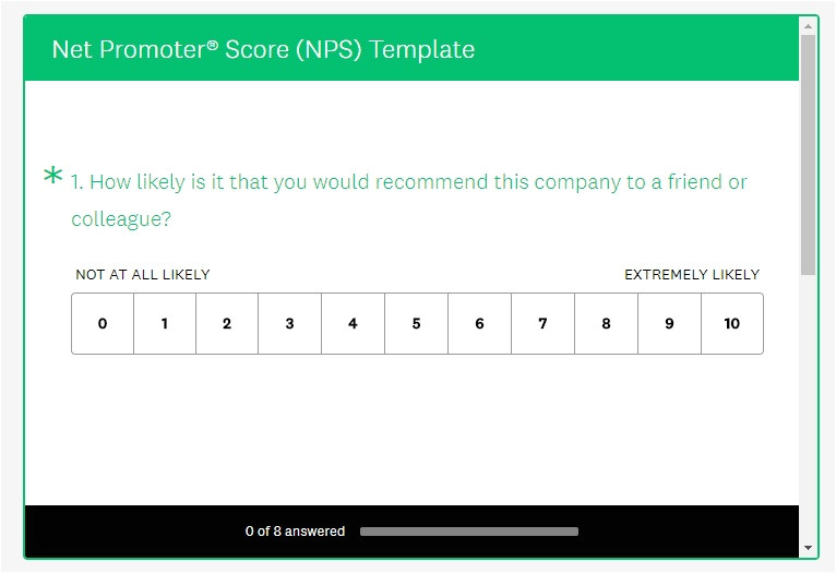 Net Promoter Score Survey Template How to Create A Net Promoter Score Survey Kiosk Nps