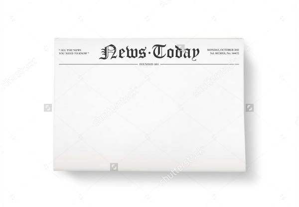 printable newspaper templates