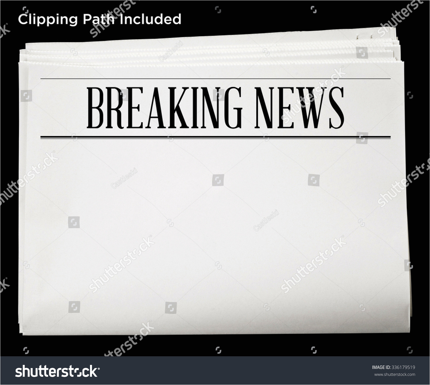 blank old newspaper template shtml