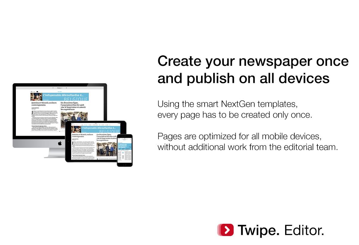 twipe launches nextgen editor