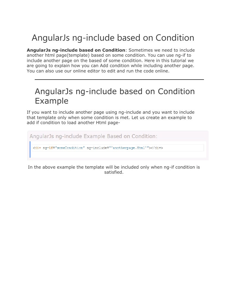 angularjs ng include based on condition