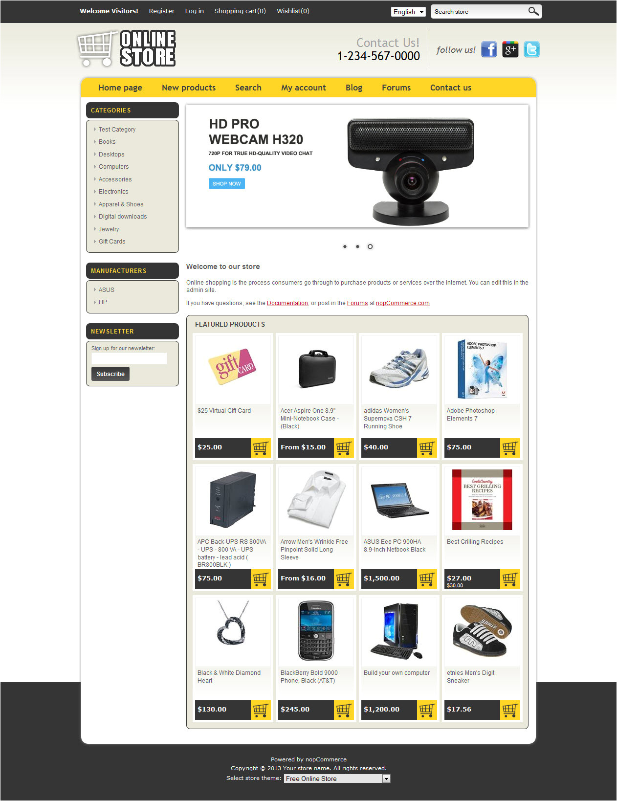 nopcommerce free 3 20 templates