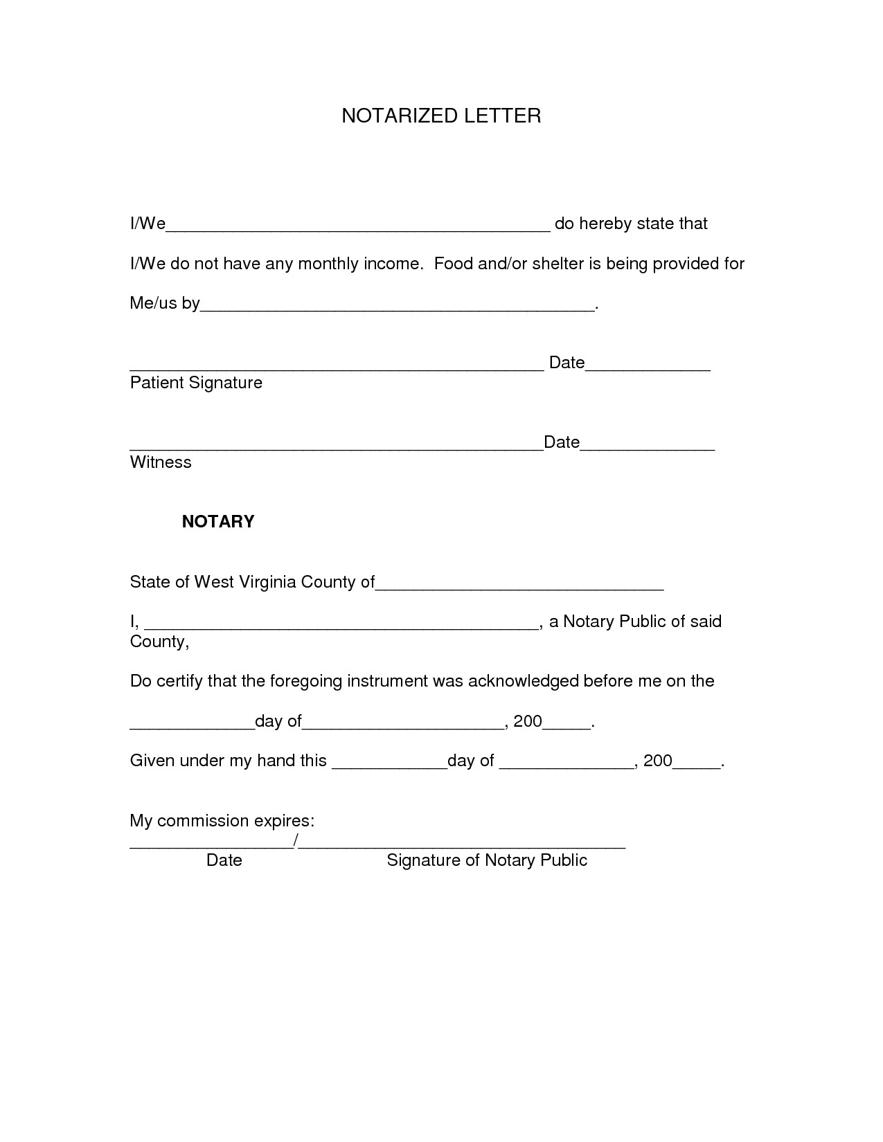 post generic notary letters 441368