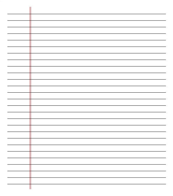notebook paper template 2