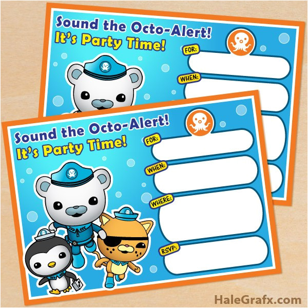 Octonauts Templates Free Octonauts Party Printables Little Wish Parties