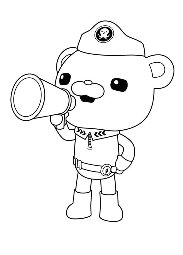 Octonauts Templates Octonauts Coloring Pages Best Coloring Pages for Kids
