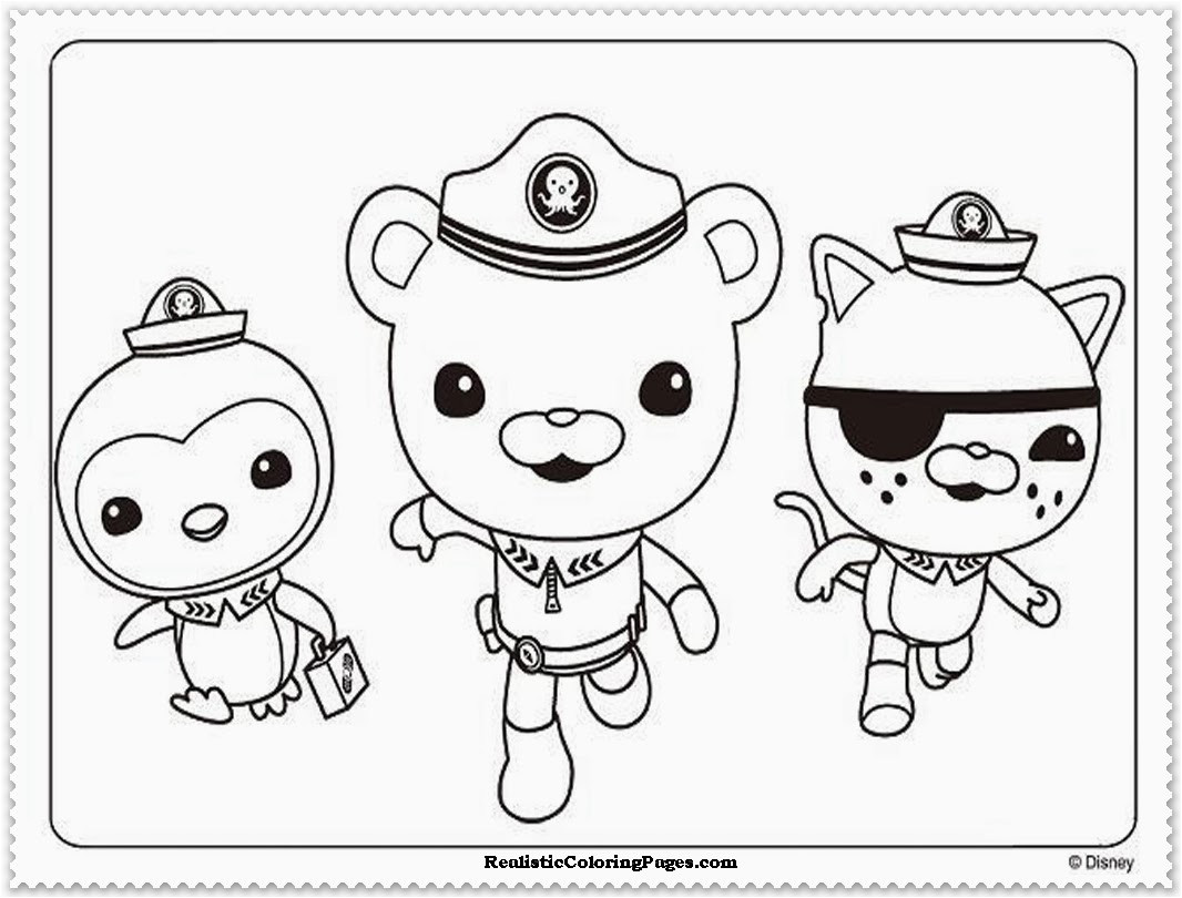 Octonauts Templates Octonauts Coloring Pages Realistic Coloring Pages