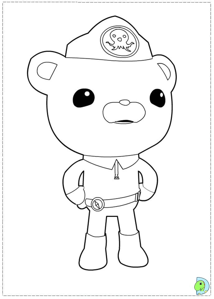 Octonauts Templates Octonauts Gup C Coloring Pages Coloring Pages