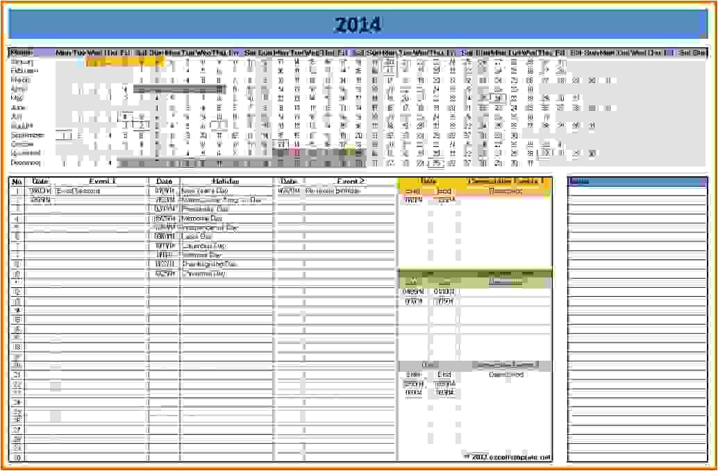 microsoft office calendar template