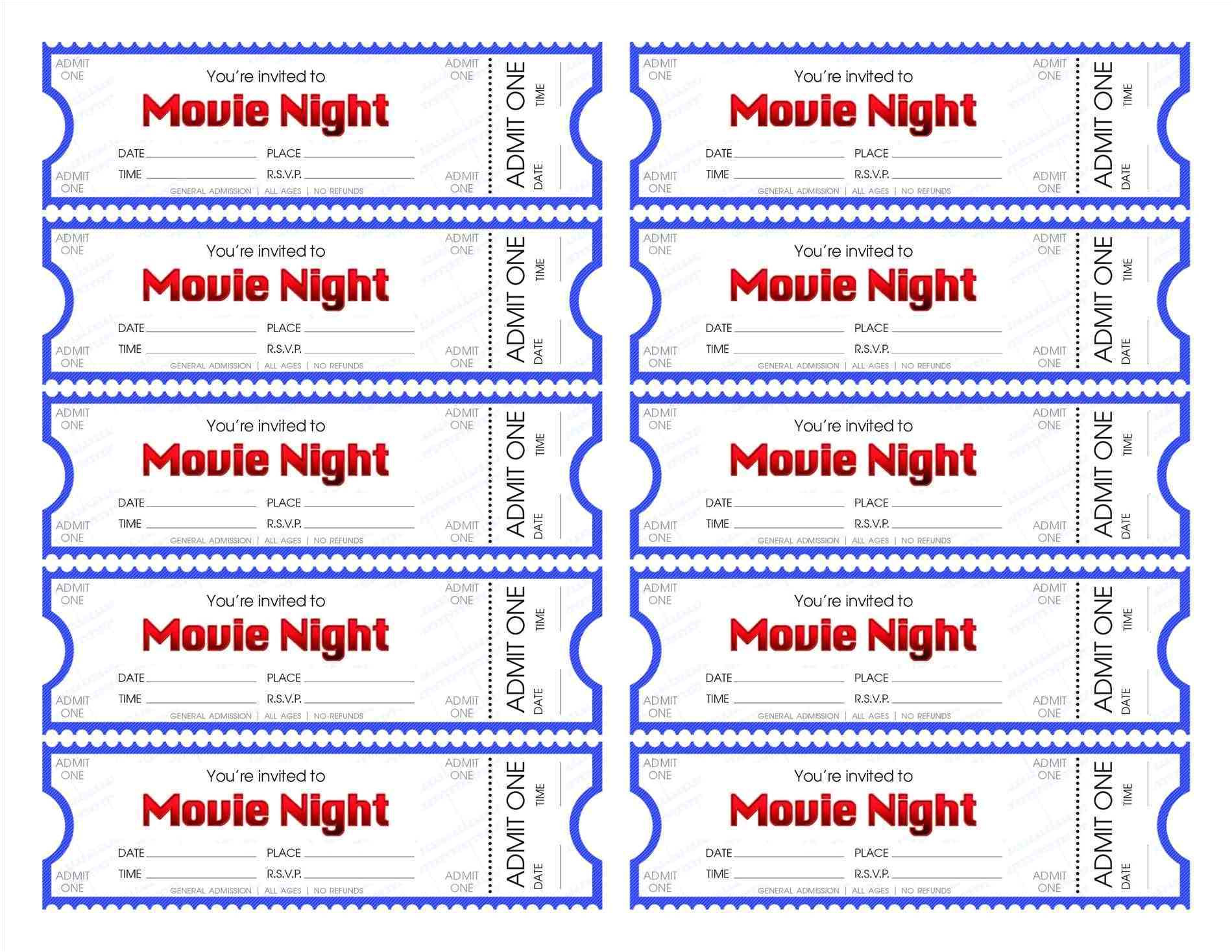 office max printable tickets template 5496
