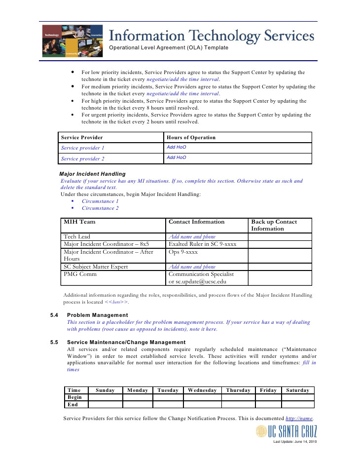 operational level agreement template n 23