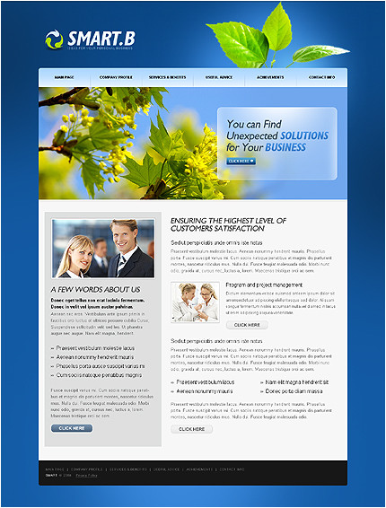 26 images of one page company profile template download 9827