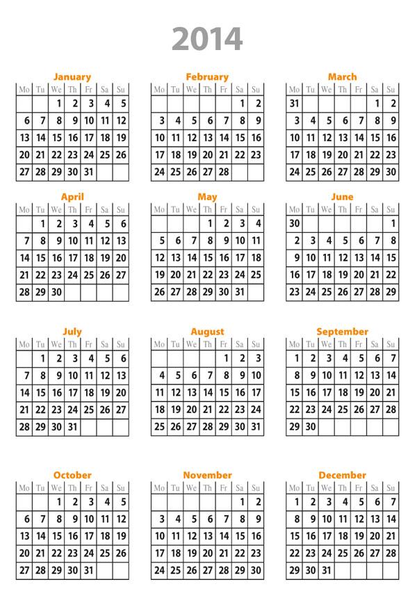 Online Calendar Template 2014 Free Calendar Template 2014 Sadamatsu Hp