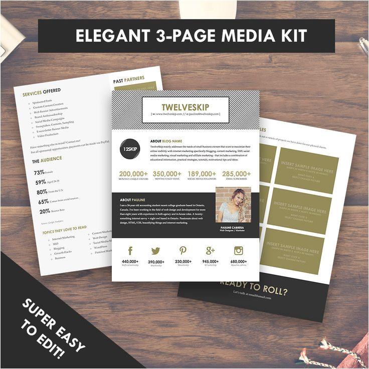 Online Media Kit Template 59 Best Images About Media Kit Inspiration A Media Kit