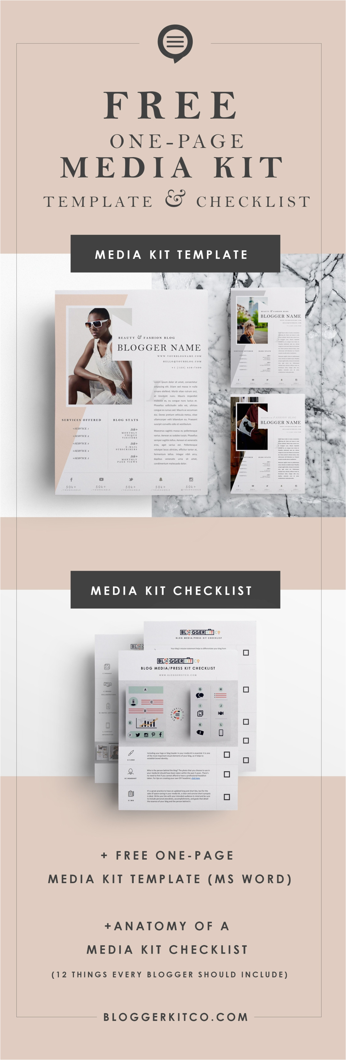 anatomy of a media kit