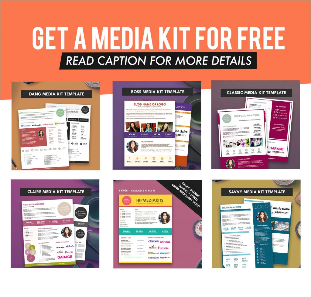 Online Media Kit Template Pauline Cabrera Author at Hip Media Kit Templates
