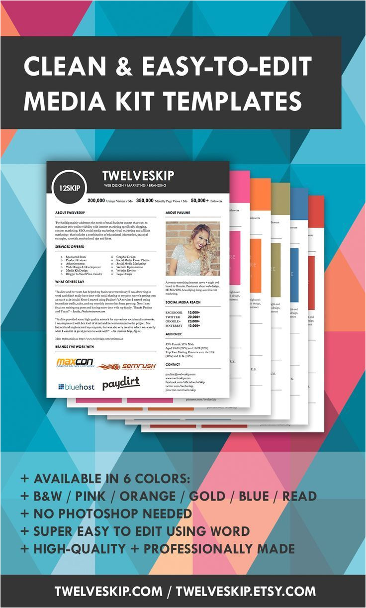 Online Press Kit Template 17 Best Images About How to Create Media Kit Templates On