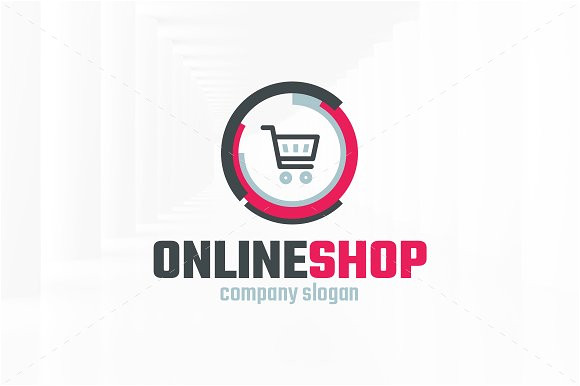 Online Shopping Logo Templates Online Shop Logo Template Logo Templates Creative Market