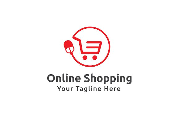 Online Shopping Logo Templates Online Shopping Logo Template Logo Templates Creative