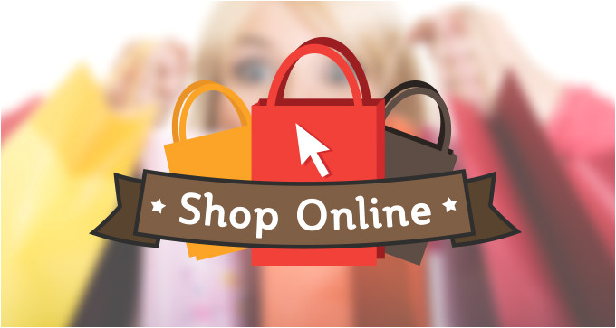 Online Shopping Logo Templates Vector Elements and Resources Download Designers