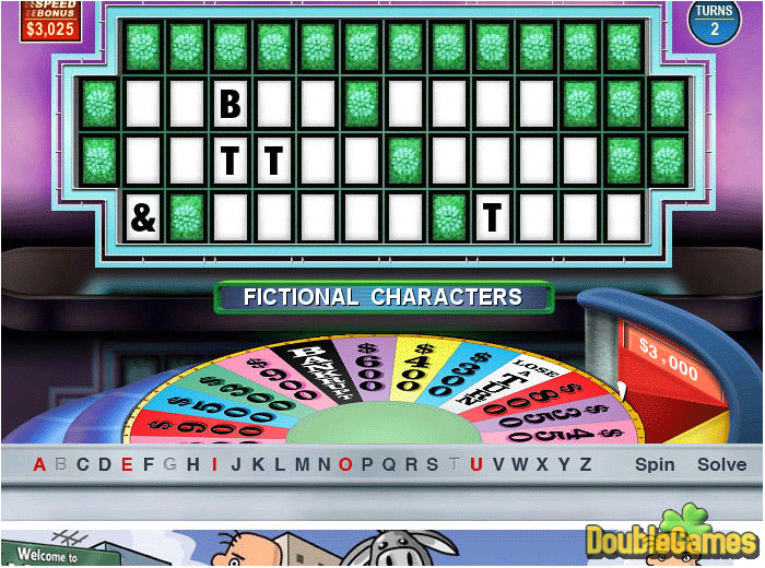 online wheel of fortune template