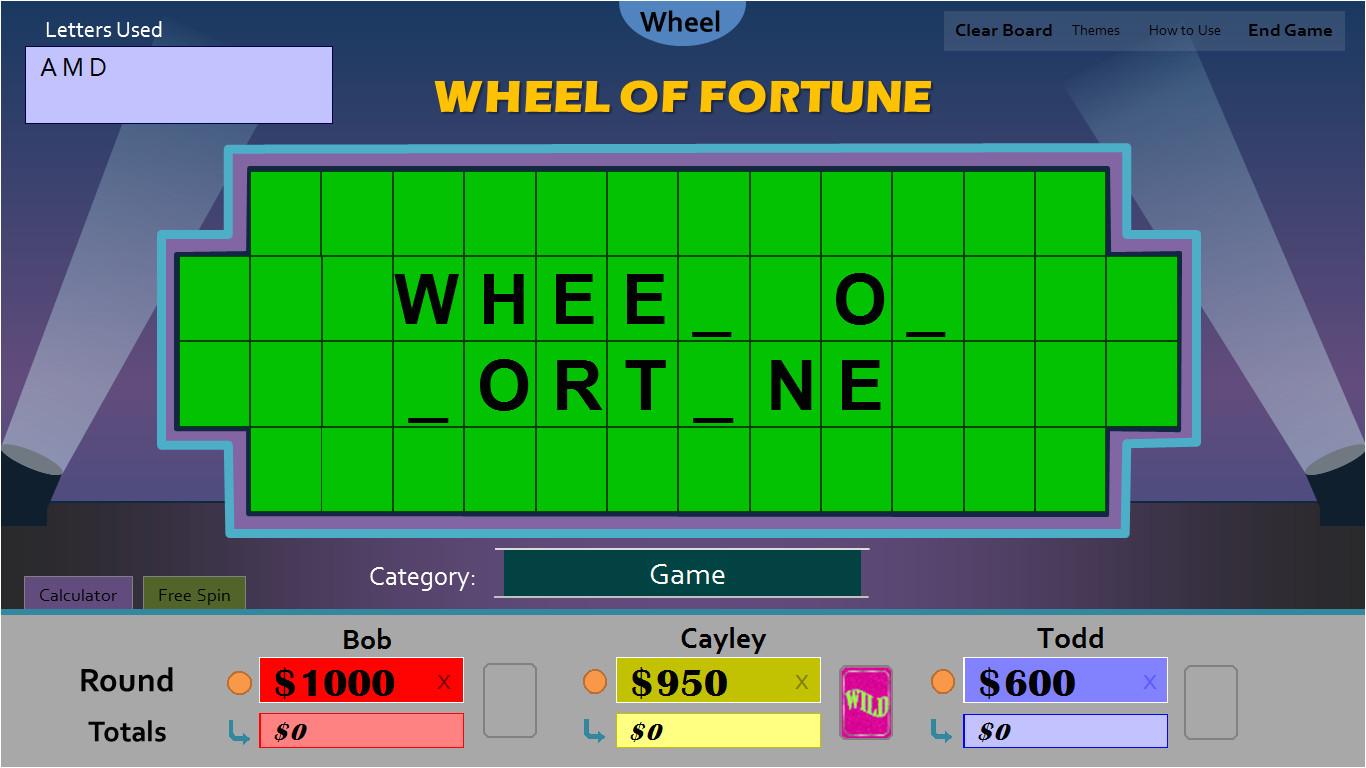 wheel of fortune beta 2