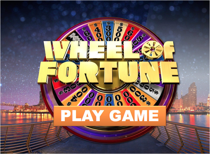 wheel fortune powerpoint game