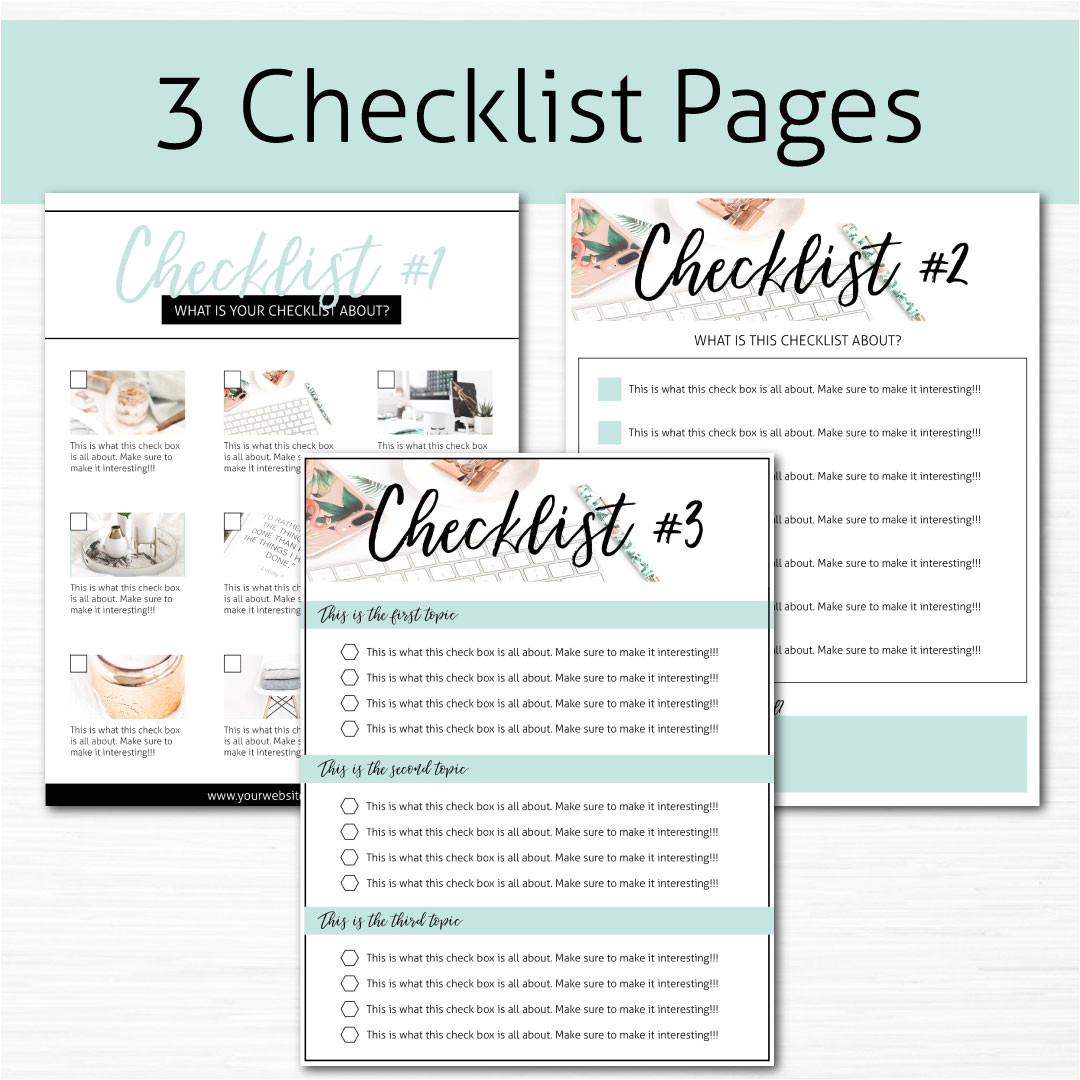 Opt In Page Template Opt In Freebie Templates Pack Black Turquoise and
