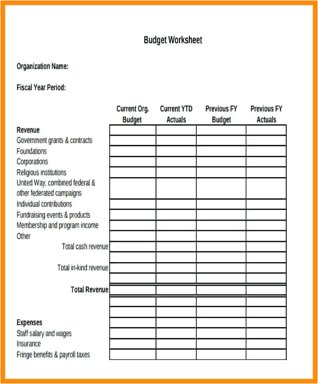 nonprofit budget template organizational budget profit startup budget caption non profit budget template excel free