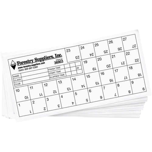 Orienteering Control Card Template orienteering Control Cards Pack Of 25 forestry