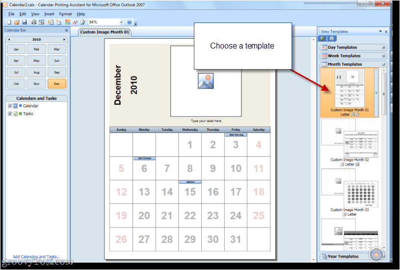 Outlook Calendar Printing assistant Templates How to Print Overlain Calendars In Outlook with Calendar