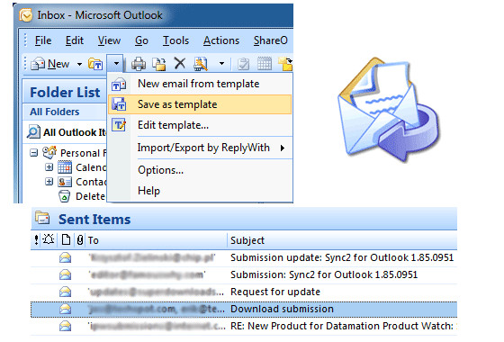 microsoft email templates