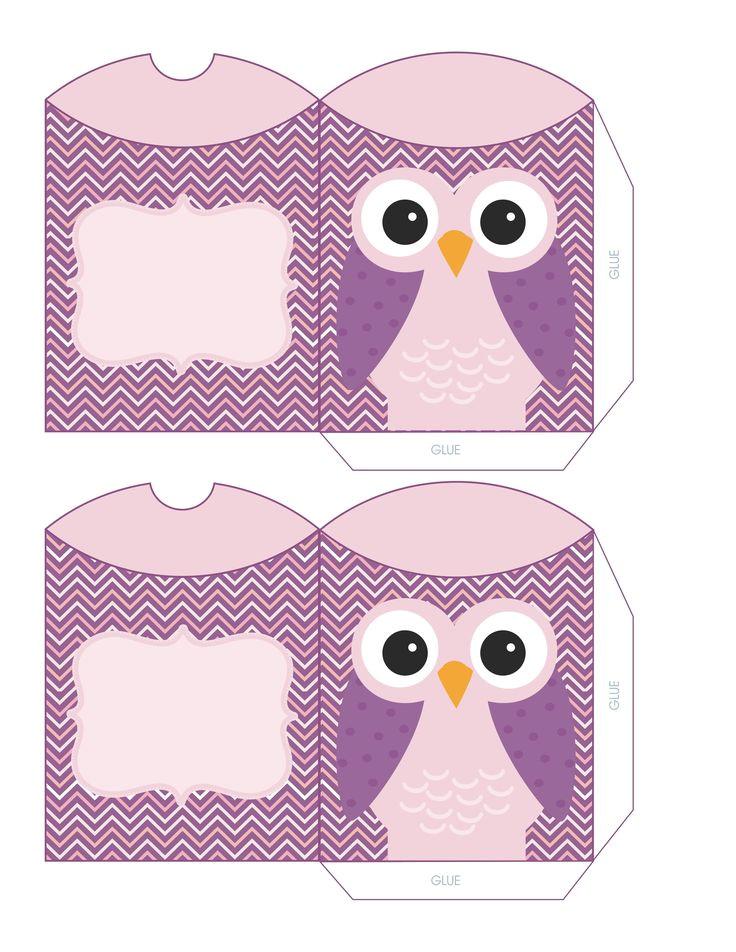 owl printable free