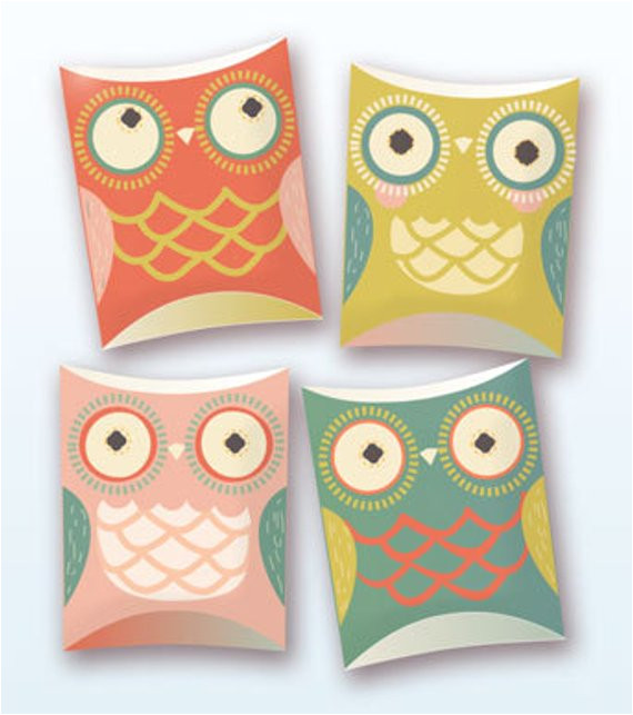 owl pillow gift boxes pdf template 9