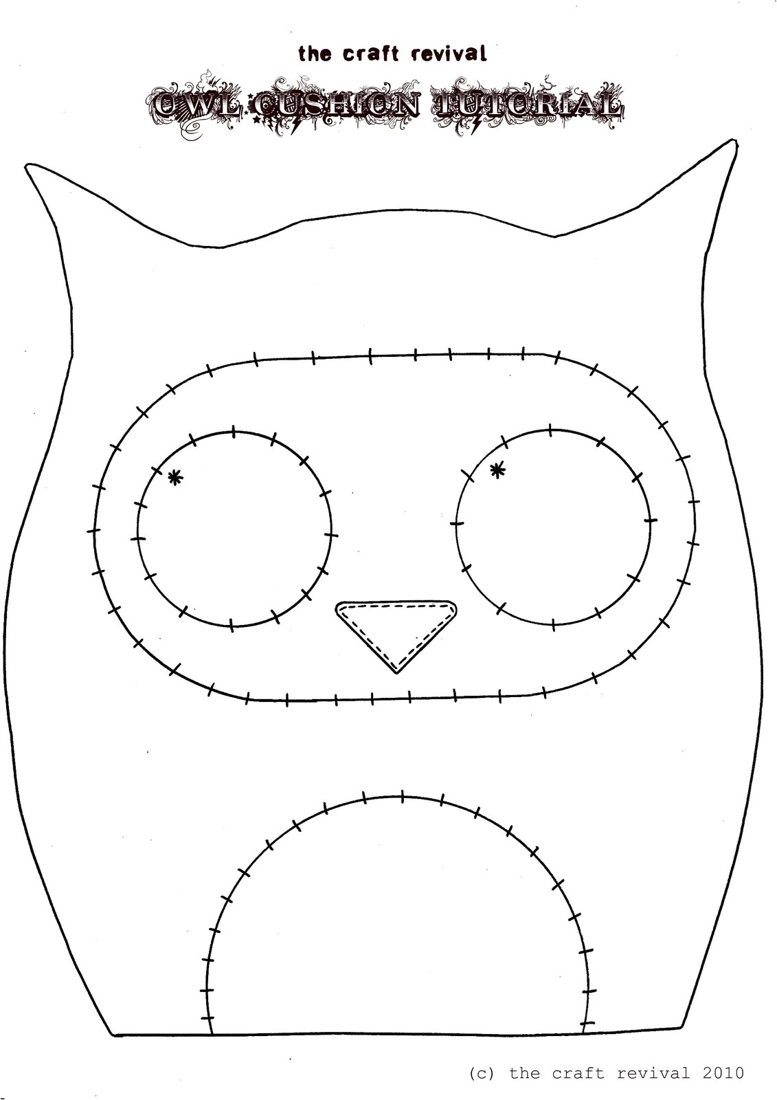 owl cushion giveaway announcement