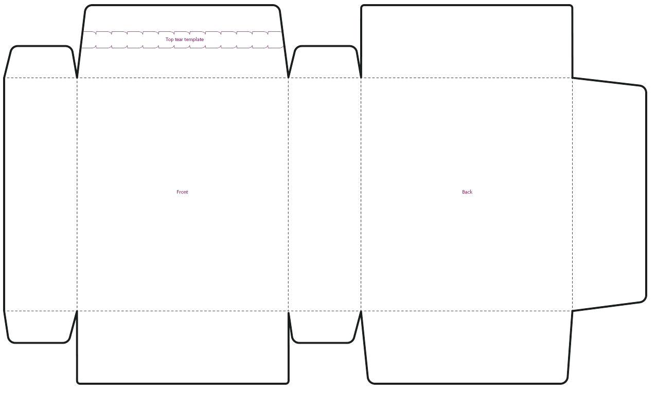 illustrator box template