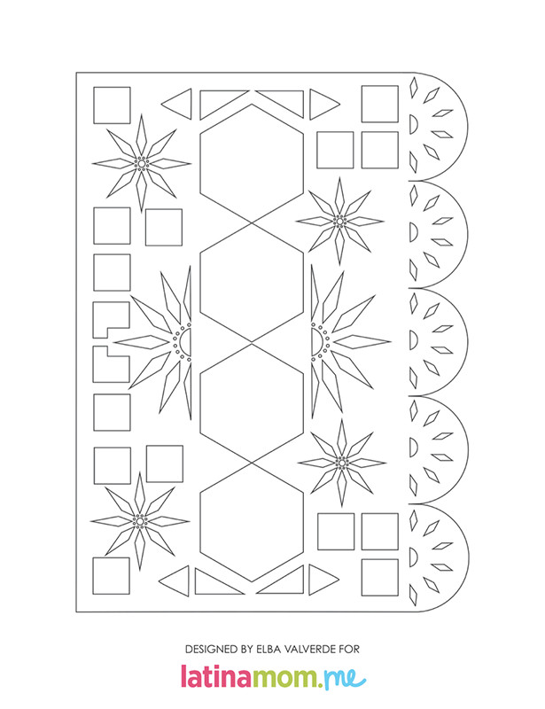 22293 day dead printable papel picado activity