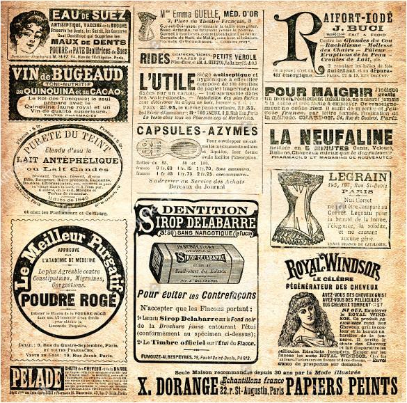 old newspaper