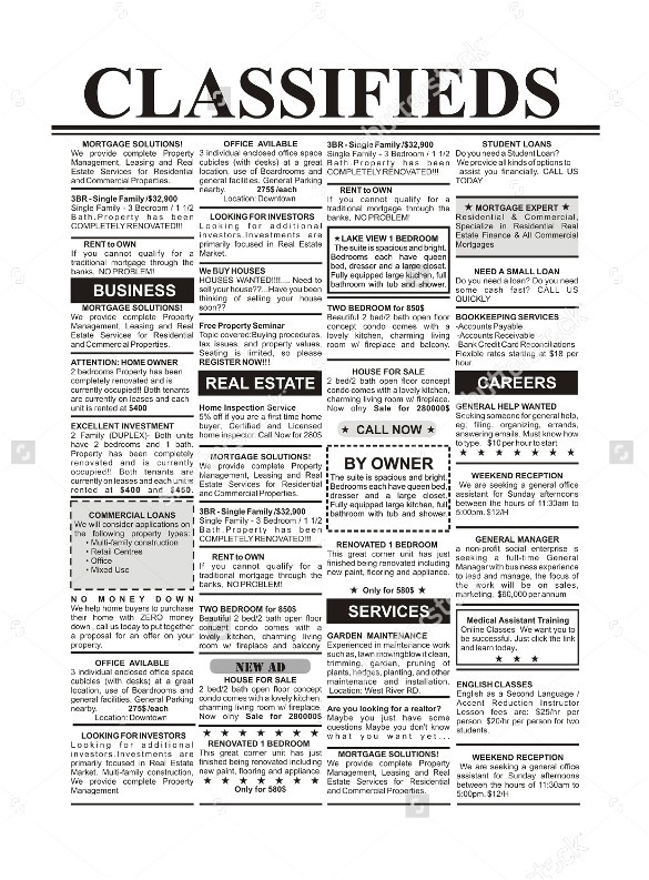 newspaper ad template for word 2