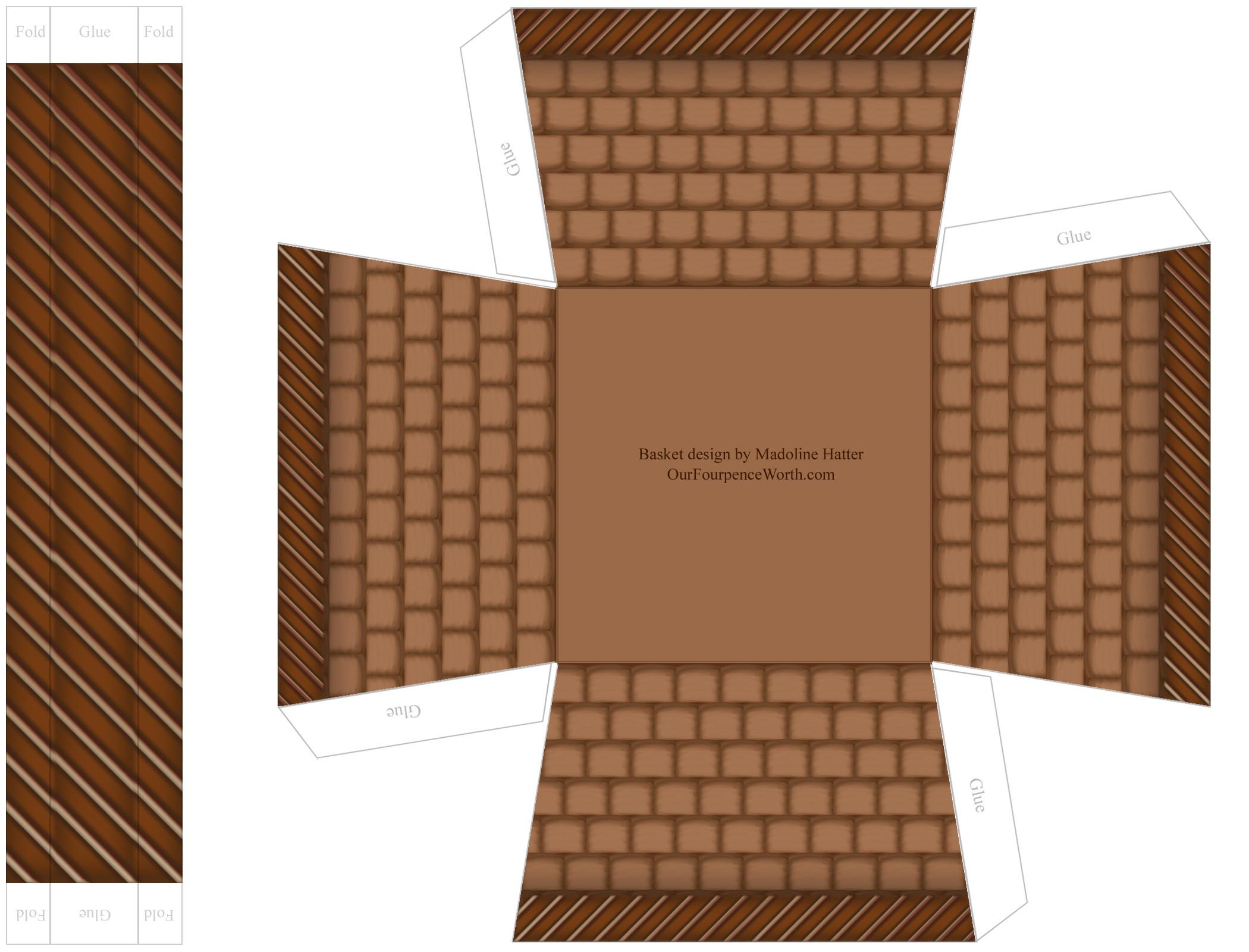 post free printable basket patterns 133275