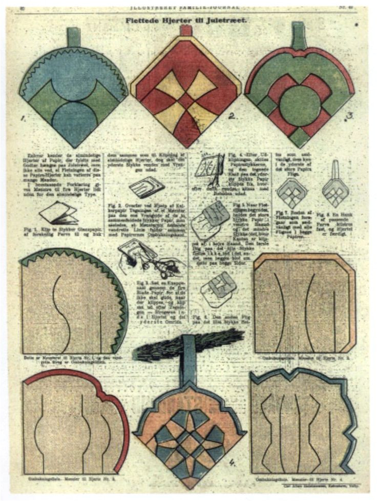 Paper Basket Weaving Template 84 Best Images About Danish Paper Hearts On Pinterest
